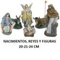 Figuras 20-21-24cm