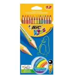 Lápices de colores Bic Kids 12