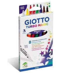 Rotuladores Giotto Magic 8