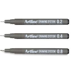 Bolígrafo Dibujo Artline Drawing System