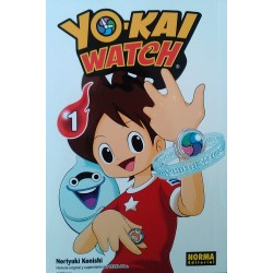 Yo-Kai Watch Castellano Tomo 1 a 10