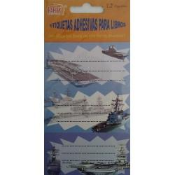 Etiquetas identificativas barcos