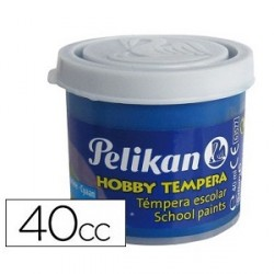 Tempera Pelikan 40ml cian