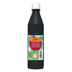 Tempera Jovi 500ml negro