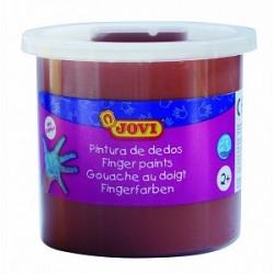 Pintura Dedos Jovi 125ml marrón