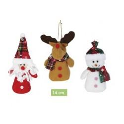 Peluches Navidad 14cm
