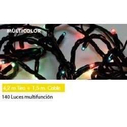 140 microluces multifunción colores