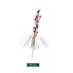 Pick Decorado Rojo 25cm