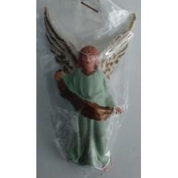 Ángel verde 7cm Plástico