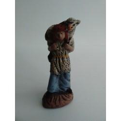 Pastor con Oveja 10cm