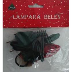 Lámpara Belén-Rojo