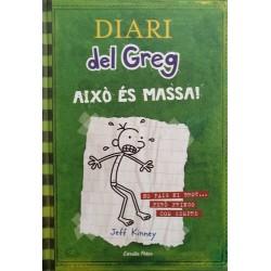 Diari del Greg 3. Això és massa