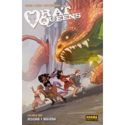 Rat Queens 1. Descaro y brujería