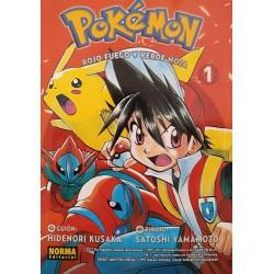 Pokémon 13. Rojo fuego y verde hoja 1