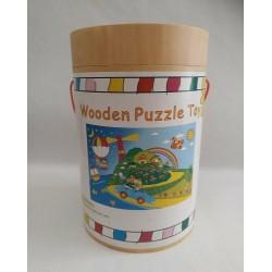 Puzzle Wooden Puzzle Toy 40 piezas