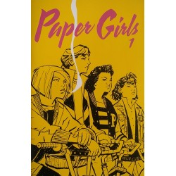 Paper Girls Castellano. Grapa 1 a 10
