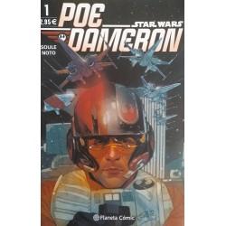 Star Wars. Poe Dameron Castellano. Grapa 1 a 10