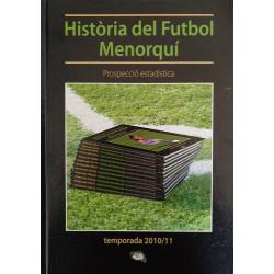 Historia del Fútbol Menorquín. Temporada 2010/11