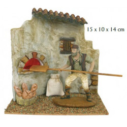 Panadero 10cm