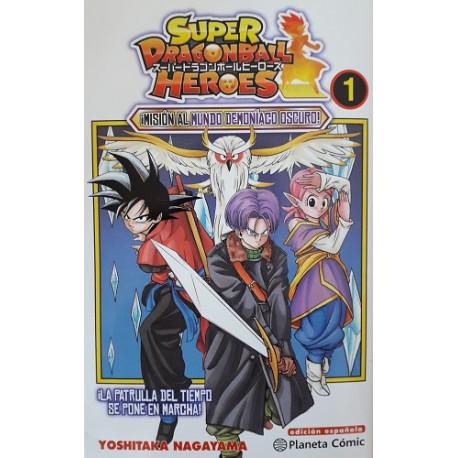 Dragon Ball Heroes Castellano. Tomo 1 a 10