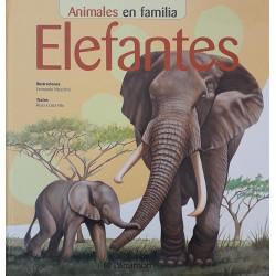 Elefantes. Animales en familia