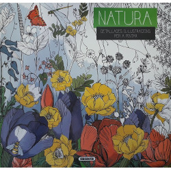 Natura. Detallades il·lustracions per a pintar