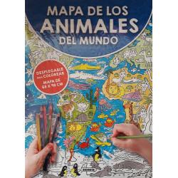 Mapa de los Animales del mundo