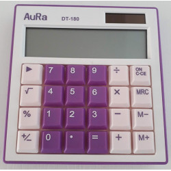 Calculadora Aura DT-180 Lila