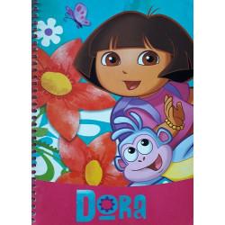 Libreta A5 Dora, la Exploradora
