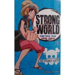One Piece Castellano. Strong World