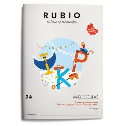 Rubio Mayúsculas 2A