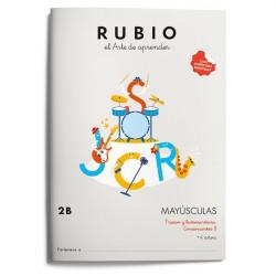 Rubio Mayúsculas 2B