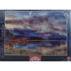 Puzzle Lago Maligne 1000 piezas