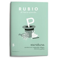 Rubio Escritura 5