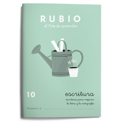 Rubio Escritura 10