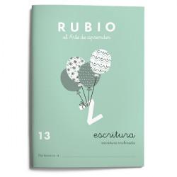 Rubio Escritura 13