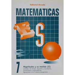 Matemáticas 7. Magnitudes y su medida (II)