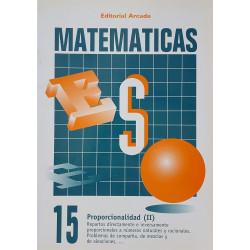 Matemáticas 15. Proporcionalidad (II)