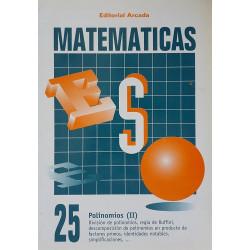 Matemáticas 25. Polinomios (II).