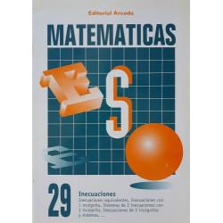 Matemáticas 29. Inecuaciones