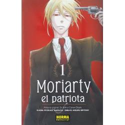 Moriarty el patriota Castellano Tomo 1 a 10