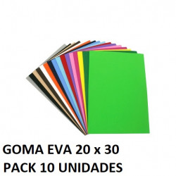 Lámina Goma Eva 40x60 cm