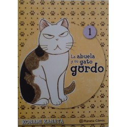 La abuela y su gato gordo Castellano. Tomo 1 a 8