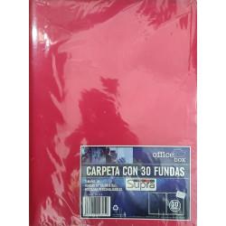 Carpeta 30 fundas  - Supra
