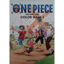 One Piece. Color Walk