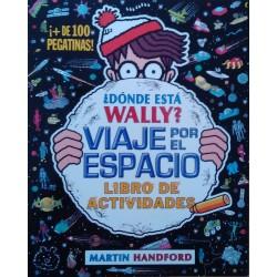 ¿Dónde está Wally? Viaje por el espacio. Libro de actividades