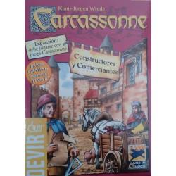 Carcassonne, Constructores y Comerciantes