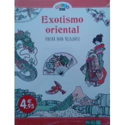 Exotismo oriental. Pintar para relajarse