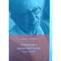 Homenatge a Antoni Moll Camps. Textos i estudis