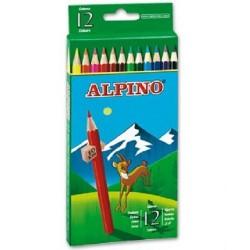 Lápices de colores Alpino 12